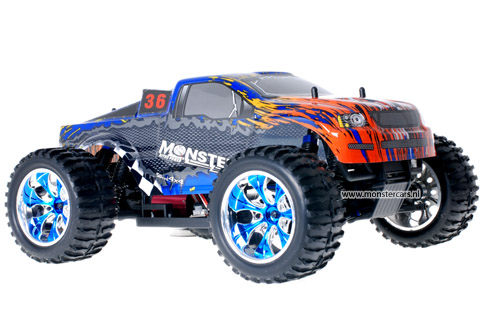 Himoto Brushless Truck Dakar Rally 2.4GHz AANBIEDING!